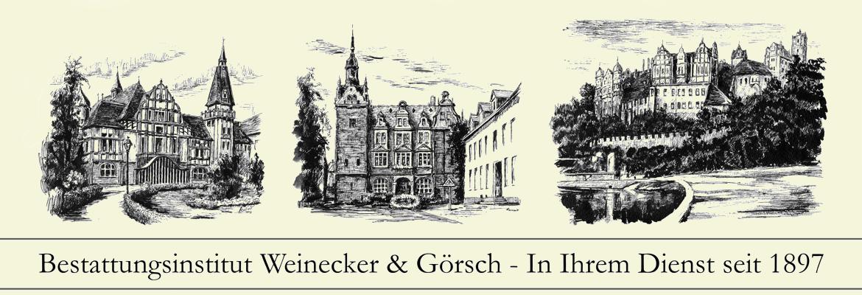 Bestattungsinstitut Weinecker & Görsch - In Ihrem Dienst seit 1891